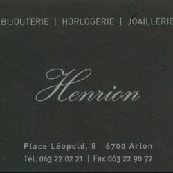 Bijouterie Henrion- Arlon