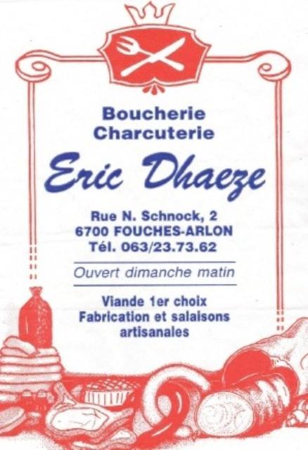 Boucherie DHAEZE - Fouches