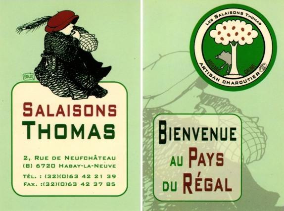 Boucherie Thomas - Habay-La-Neuve et HOUDEMONT.