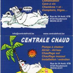 Centrale Froid - Centrale Chaud Houdemont.