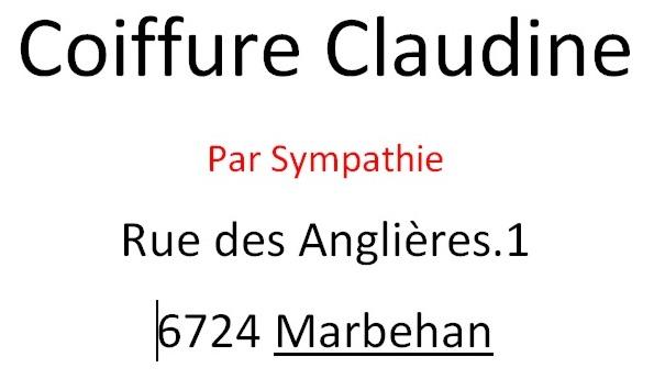 Coiffure Claudine - Marbehan
