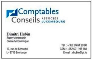Comptables Conseils - ASSOCIES LUXEMBOURG