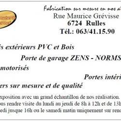 Menuiserie Cornet - RULLES