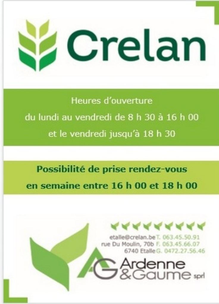CRELAN Ardenne et Gaume Sprl - ETALLE