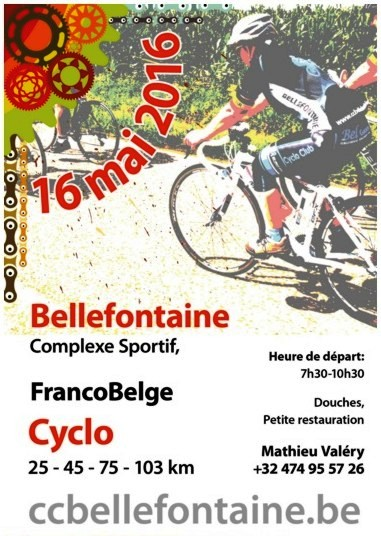 Cyclo à Bellefontaine le 160516