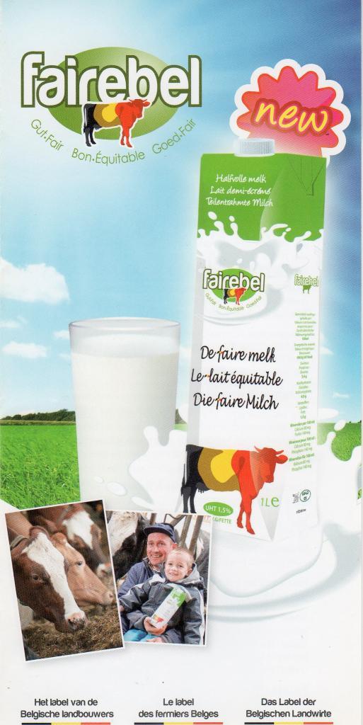 Fairebel - Le lait équitable