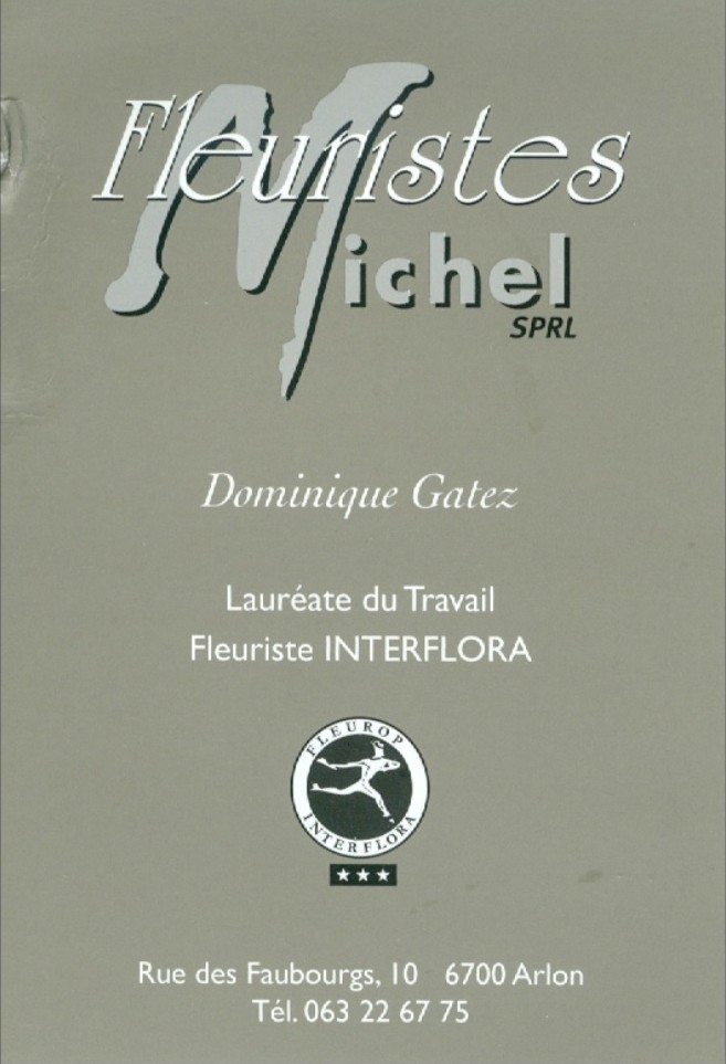 Fleuristes MICHEL ARLON