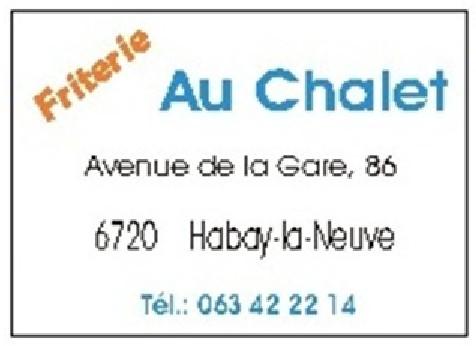 Friterie Au Chalet Habay-La-Neuve