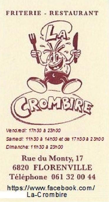 Friterie - La Crombire - Florenville