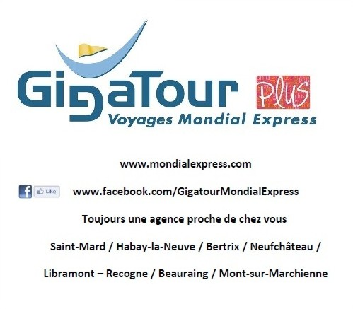 Gigatour - Voyage Mondial Express - Saint-Mard et Habay