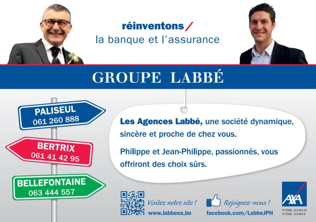 Groupe LABBE - Banque et Assurance - Bellefontaine Bertrix Paliseul