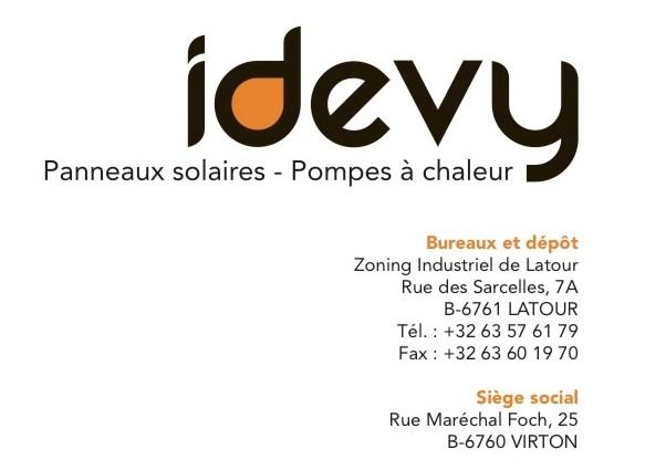 IDEVY Latour - Panneaux solaires - Pompes à chaleur