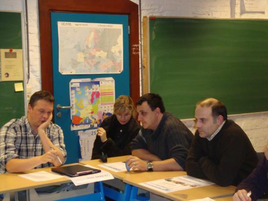 Benoît, Nancy, Karim et Pascal