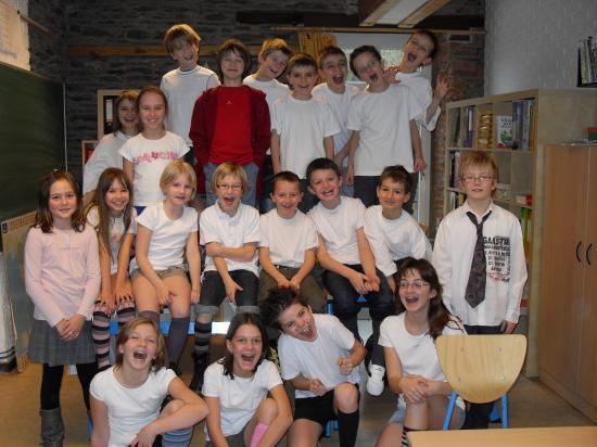Photos des enfants de l'école de HOUDEMONT