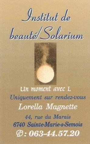 Institut beauté Lorella Magnette Sainte Marie