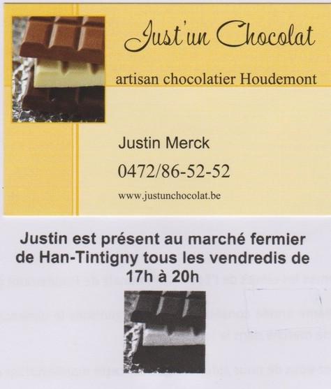 Just' un chocolat - Houdemont.
