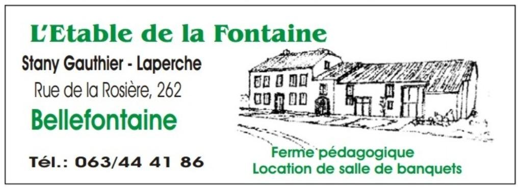 L' Etable de la Fontaine - Bellefontaine