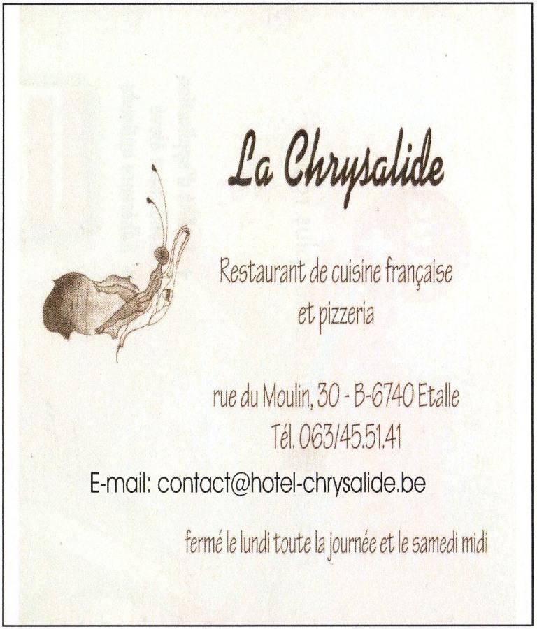 La Chrysalide - Restaurant à Etalle