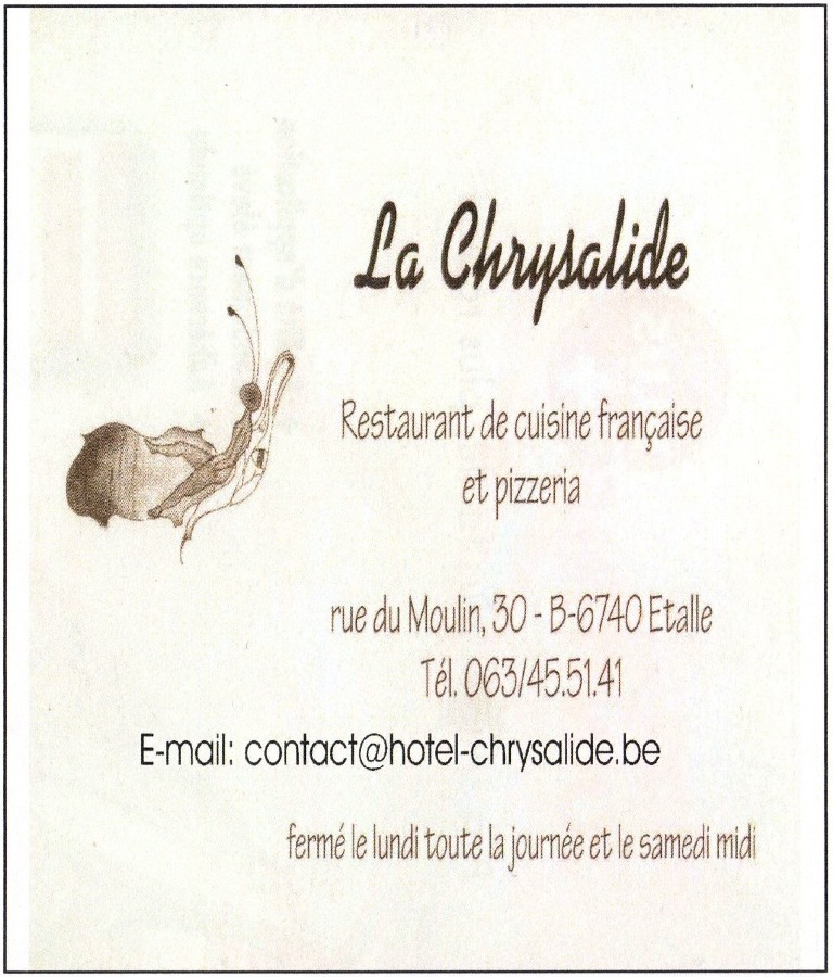 Restaurant La Chrysalide - Etalle