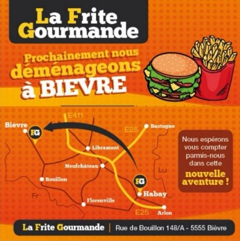 La frite Gourmande - Habay-La-Neuve