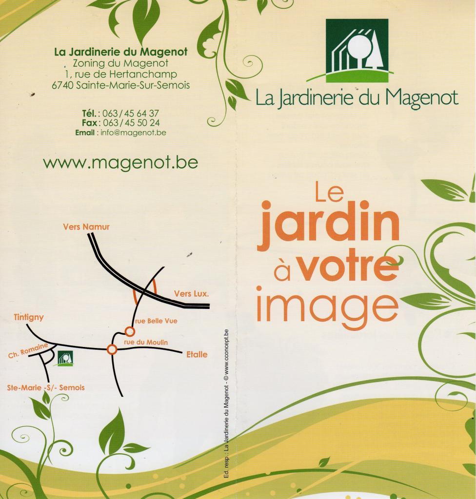 La Jardinerie du Magenot - Sainte-Marie-Sur -Semois