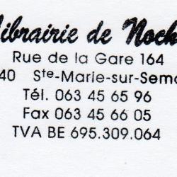 Librairie de Nochet - Sainte-Marie-Sur-Semois