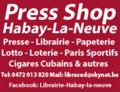 Librairie Press Shop Habay-La-Neuve