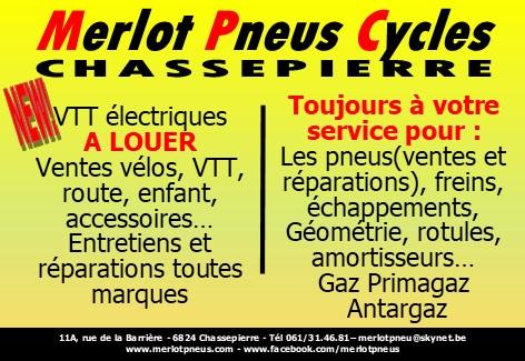 MERLOT PNEUS CYCLES - Chassepierre (Florenville)