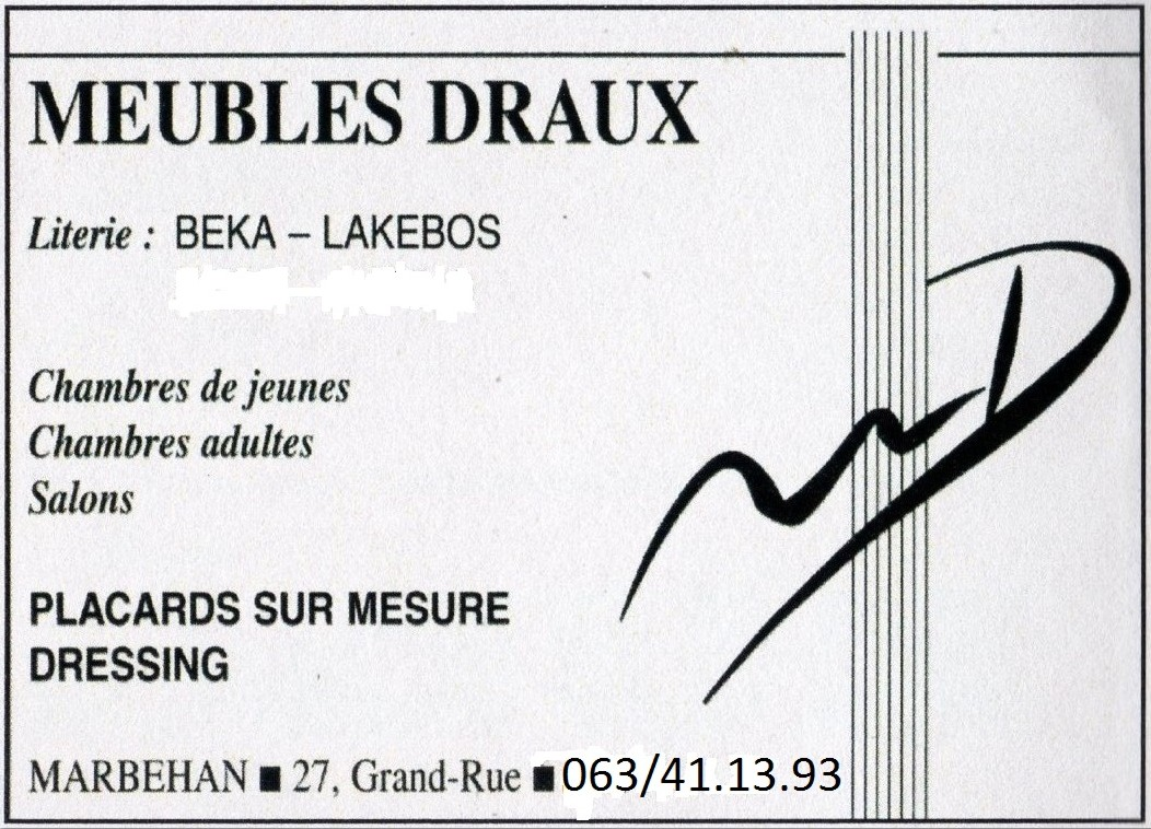 Meubles Draux - Marbehan