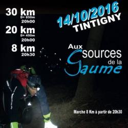 NIGHT TRAIL à TINTIGNY le 141016