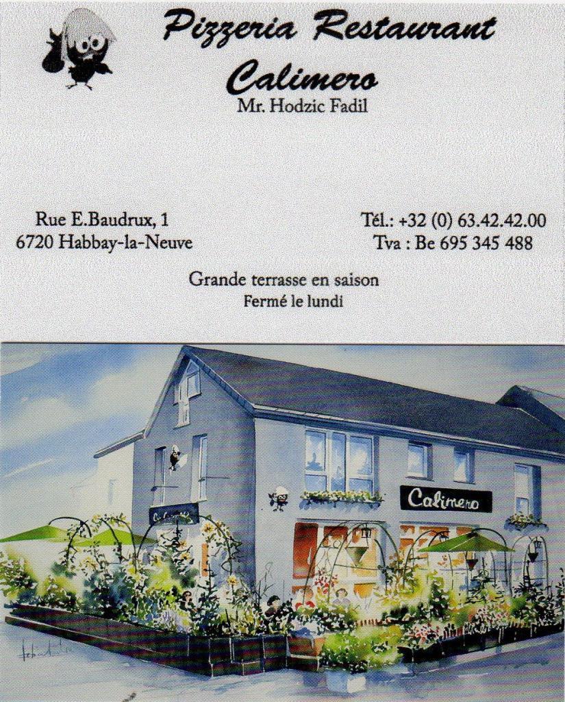 Pizzeria Calimèro - Habay-La-Neuve