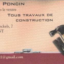 PONCIN Thierry - Travaux de Construction - 6700 SAMPONT