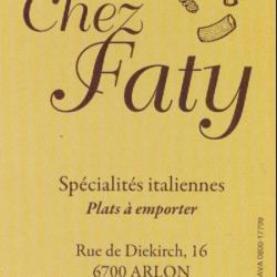 Restaurant chez Faty - Arlon