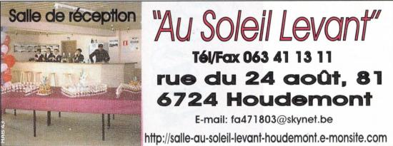 salle au Soleil Levant Houdemont.