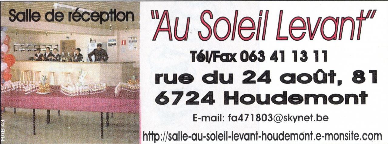 salle au Soleil Levant Houdemont