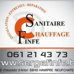 Serge Finfe - Sanitaire - Chauffage - Hamipré Neufchateau