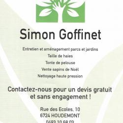 Simon GOFFINET - Parcs et Jardins - HOUDEMONT