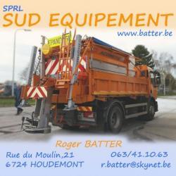 SUD EQUIPEMENT - Roger BATTER