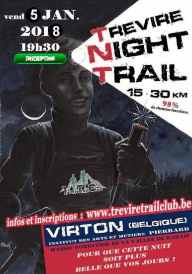 Trévire Night Trail (Virton) le 05/01/2018