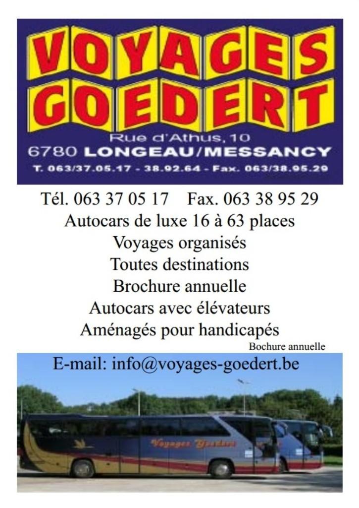 Voyage Goedert - Longeau - Messancy