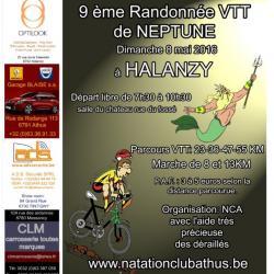 VTT+Marche à Halanzy le 08052016