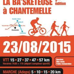 VTT+Marche Adeps à Chantemelle le 230815