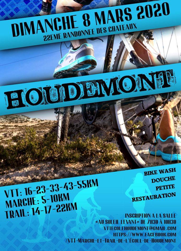 VTT-Marche et Trail à Houdemont le 08032020