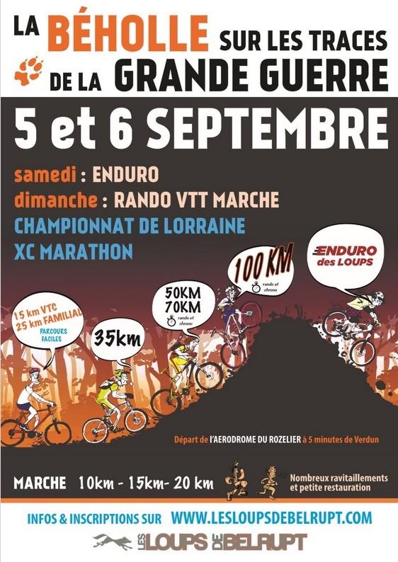 VTT+Marche rozelier VERDUN 55 les 05 et 060915