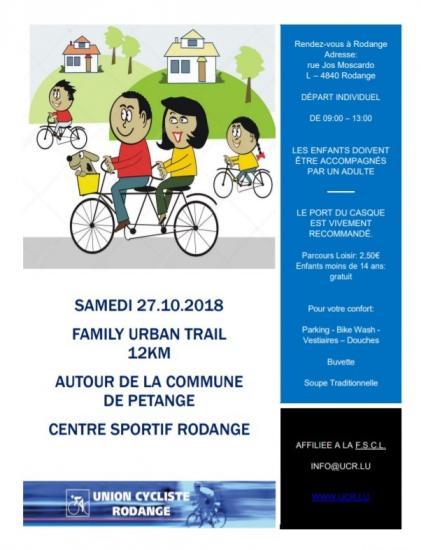 VTT Rodange Family Urban Trail - 12 km - 271018