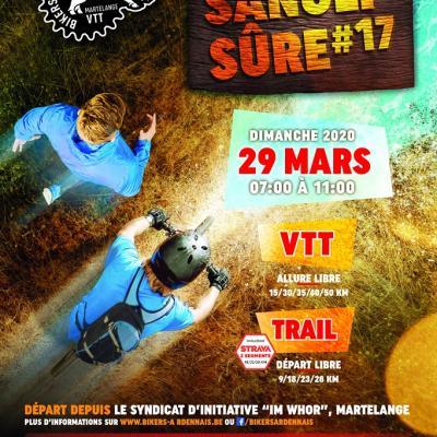 VTT+Trail à Martelange le 29/03/2020