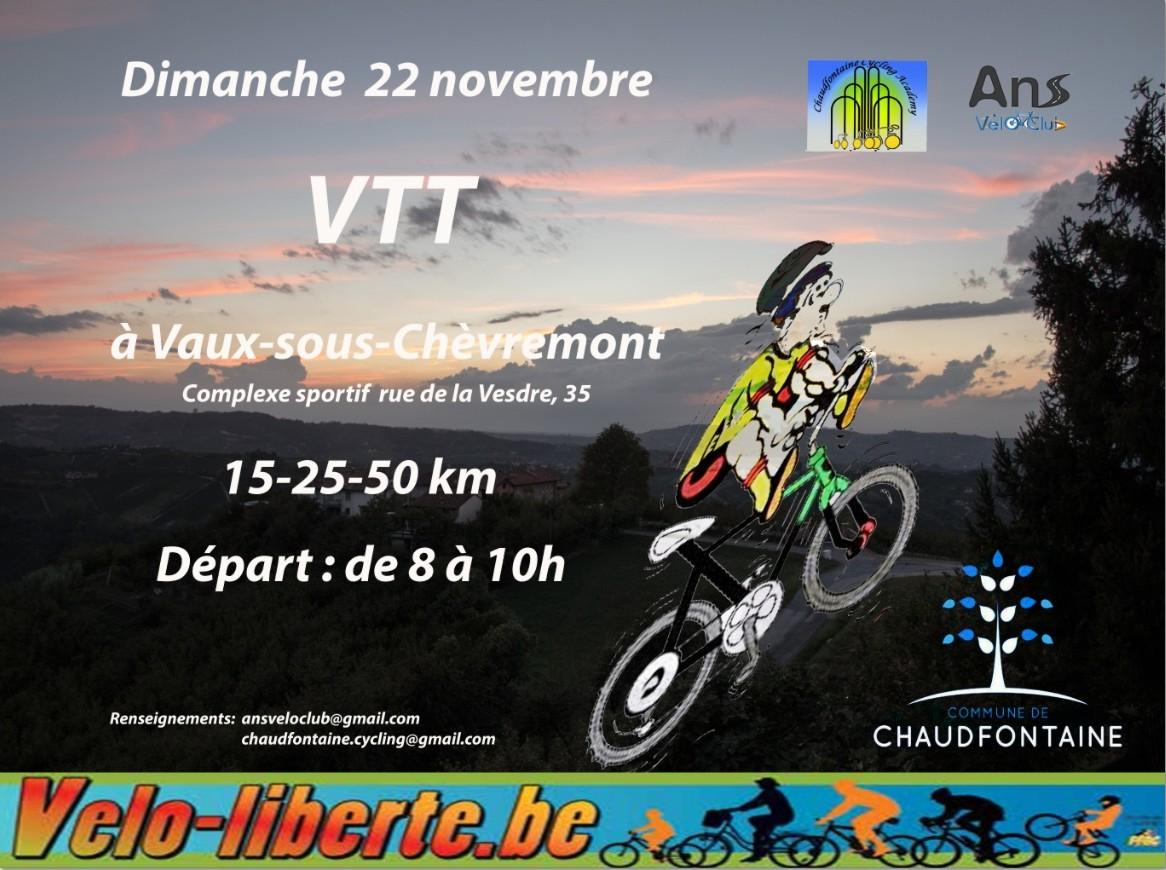 VTT Vaux sous Chévremont 221115