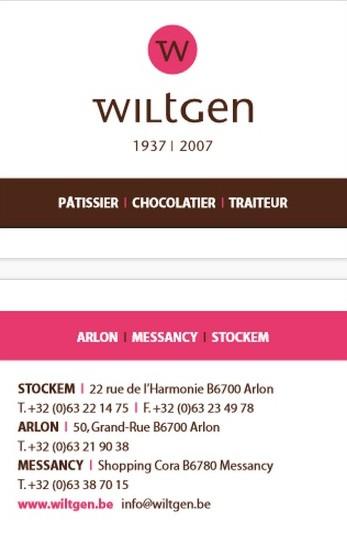WILTGEN - ARLON - STOCKEM - MESSANCY