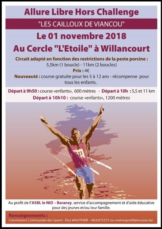 Allure libre hors challenge willancourt 11119