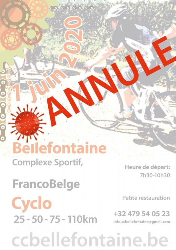 Annulation cyclo Bellefontaine 010620